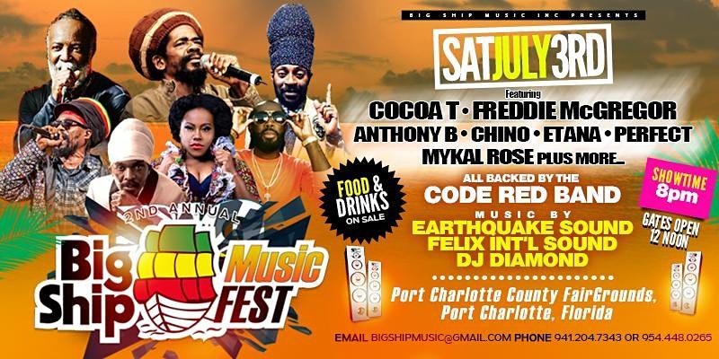 Big Ship Festival 2021, July 3rd Charlotte County Fairgrounds